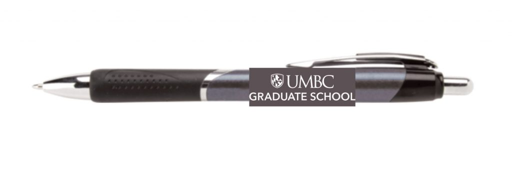 UMBC graduate school pen example