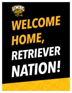 Welcome home retriever nation lettersize poster