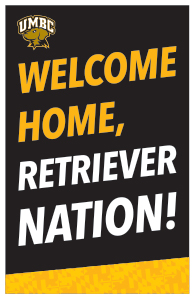 welcome back retriever nation poster